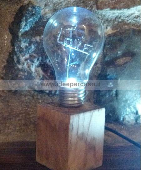 Riciclare le vecchie lampadine ad incandescenza