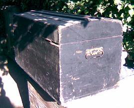 Come restaurare un vecchio baule in legno primi 39 900 - Restaurare un mobile in legno ...