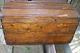 Il sito del faidate come restaurare un vecchio baule in legno primi 39 900 - Come rivestire internamente un baule ...
