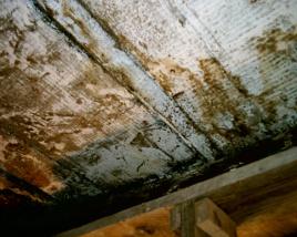 Pulizia e restauro di un solaio in legno for Vecchie tavole legno