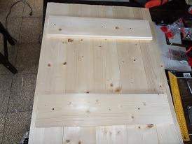 Costruire uno sportello di legno for Costruire uno scuro in legno